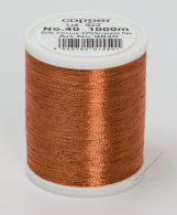 Madeira Metallic No. 40, 1000m, Farbe copper