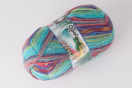 Opal Beautiful World 4-Fach Wolle, 100g Farbe 9747