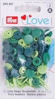 Prym 393001 Color Snaps Love mix-grün