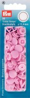 Prym 393118 Color Snaps rund 12,4mm rosa