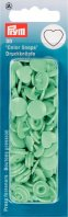 Prym 393319 Color Snaps Herz mint