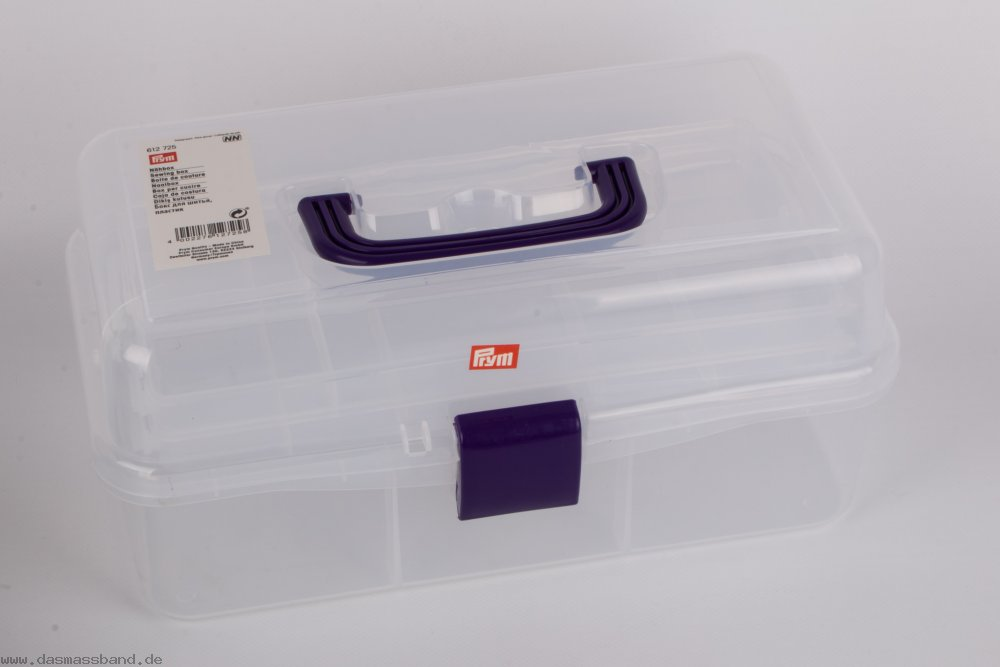 Prym 612725 Nähbox transparent