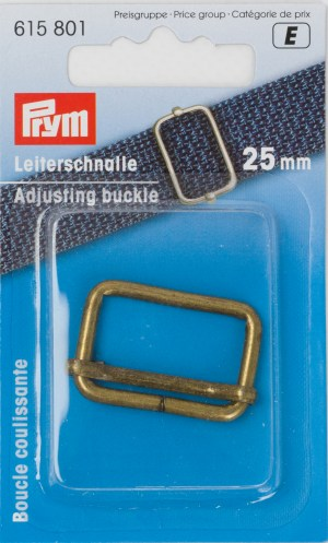 Prym 615801 Leiterschnalle 25mm altmessing
