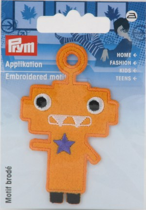 Prym 924216 Applikation Exklusiv Fun Motiv gelb