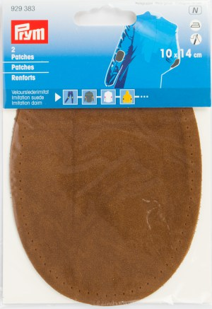 Prym 929383 Patches Velourslederimitat, camel, 2 Stück