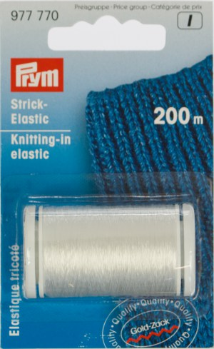 Prym 977770 Strick-Elastic transparent 200m