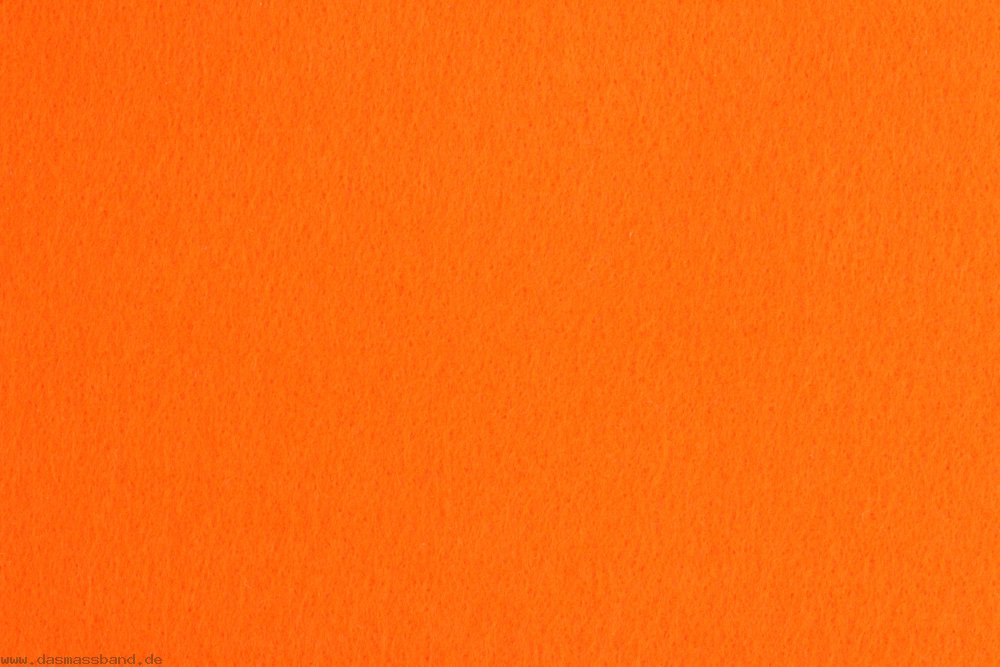 Stickfilz 50cm x 180cm Farbe 424 orange